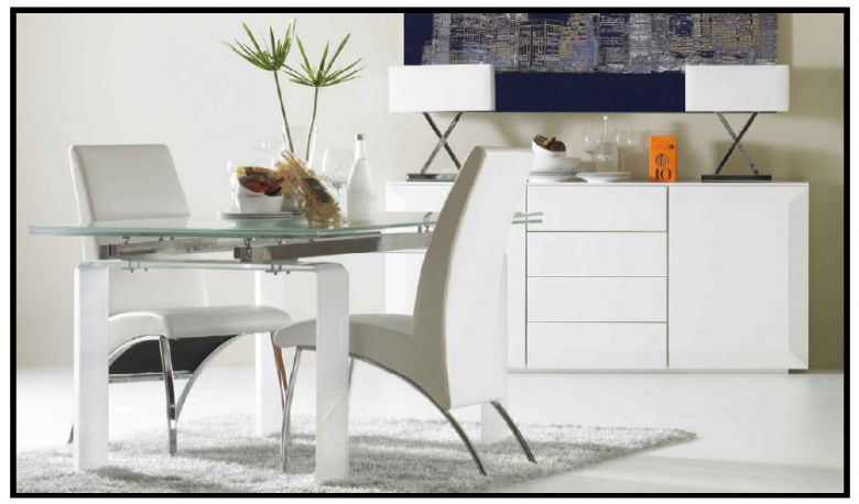 Beaufiful Mesas De Comedor De Cristal Extensibles Baratas Photos ...