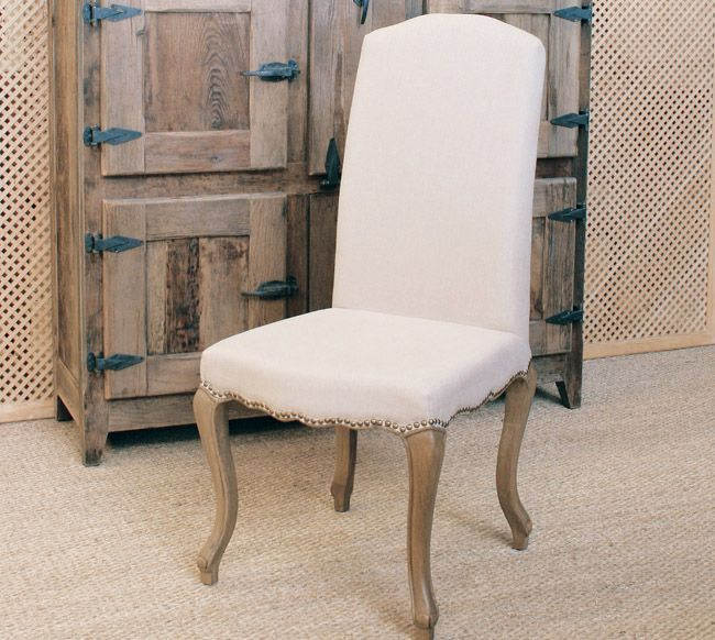 Silla de Lino Natural